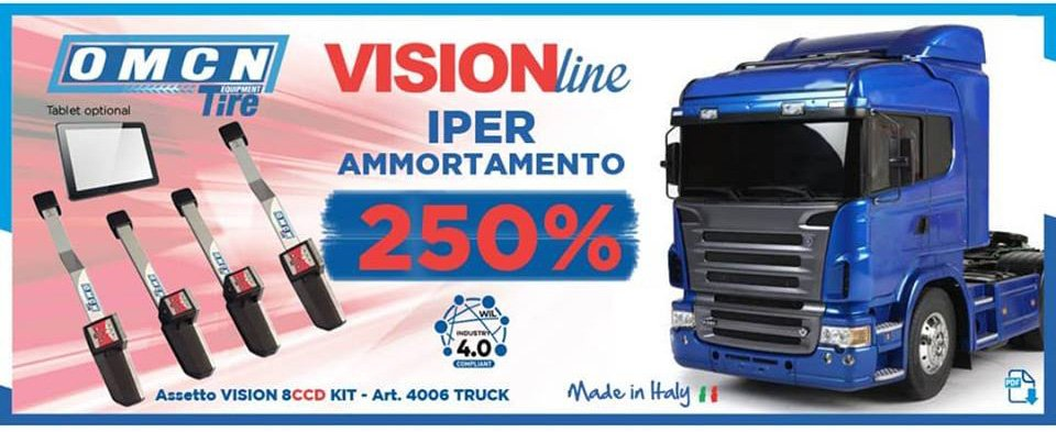ASSETTO RUOTE VISION LINE 8CCD TRUCK